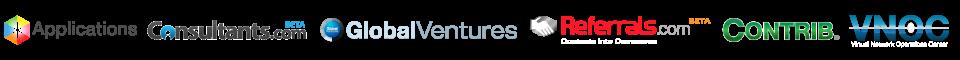 Applications.com Consultants.com, Globalventures.com, Referrals.com, Venturecamp.com